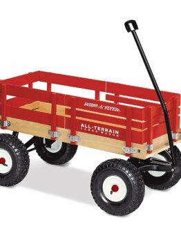 carrito de carga todoterreno para mascotas y niños carretilla de traccion