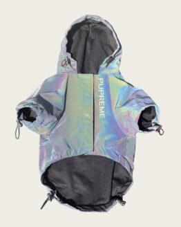 chaqueta reflectiva reflectante gordogs pupreme rtx rompevientos para perro