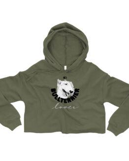 Buzos o buso para mujer corto personalizable crop hoodie woman