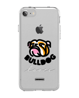 Carcasa para celular gordogs carcasa personalizable pon tu mascota en tu carcasa case for iphone todos los celulares antigolpes trasnparente bulldog fan