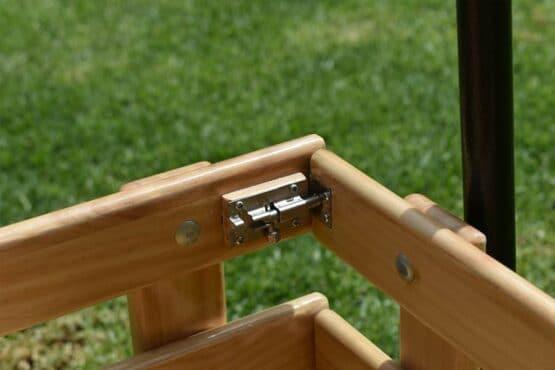 Carrito de carga homemade madera carretilla de arrastre para niños mascotas y objetos