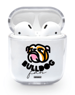 Estuche para Airpods personalizado bulldog fan gordogs Airpods Case trasnparente personalizable.png