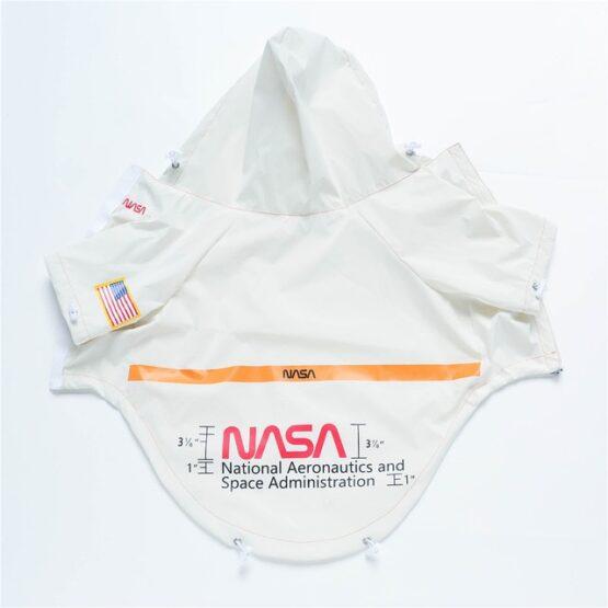 Chaqueta para perro impermeable, NASA reflectiva todas las razas gordogs bulldogs mascotas ropa para mascotas