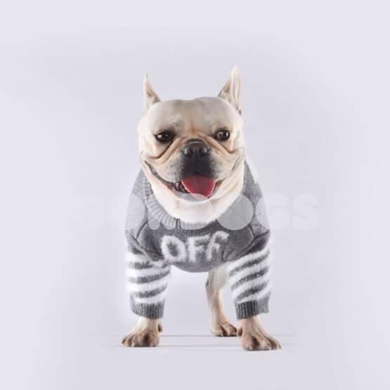 suéter para perro tejido furry off para perros pequeños y medianos gordogs