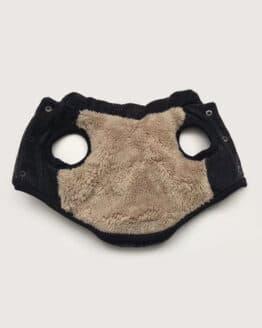 Bulldog francés chaleco teérmico para perros marca Gordogs bulldogs ropa para perro chaleco furry